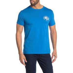 World Domination Globe Graphic Print T-Shirt