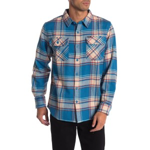 Caldwell Regular Fit Plaid Button-Up Flannel Shirt