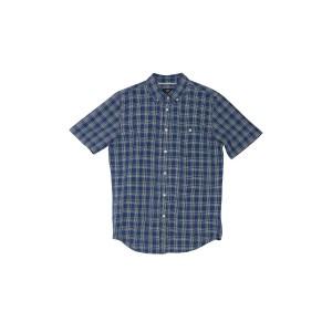 Ashbury Plaid Print Short Sleeve Regular Fit Shirt