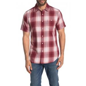Gloom Plaid Short Sleeve Slim Fit Shirt