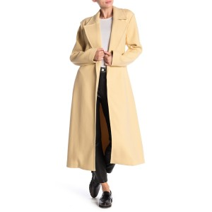 Alyssandra Long Line Knit Trench Coat