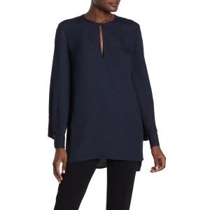 Delainey Long Sleeve Textured Blouse
