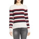 Cielle Stripe Wool & Cashmere Sweater