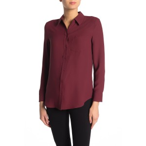 Reese Button Front Blouse