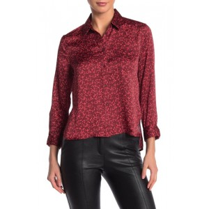 Huntley Floral Collared Blouse
