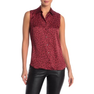 Colleen Floral Sleeveless Blouse