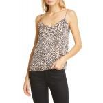 Layla Animal Print Silk Camisole