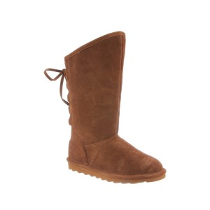 Phylly Tall Genuine Sheep Fur Lined Boot