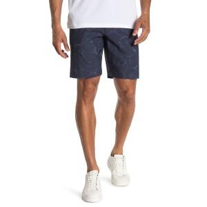 Ruffian Printed Stretch Shorts
