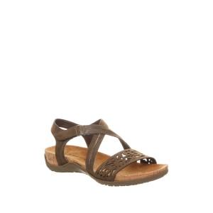 Glenda Laser-Cut Footbed Sandal