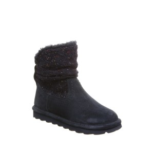 Virginia Faux Fur Knit Boot