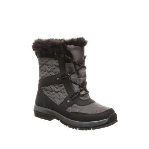Marina Faux Fur Trim & Wool Blend Lined Boot