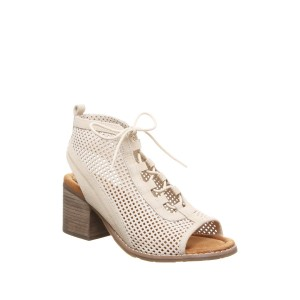 Vienna Perforated Lace-Up Sandal
