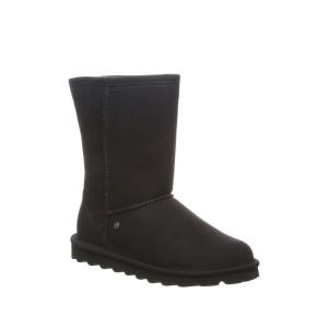 Elle Short Vegan Faux Fur Lined Boot