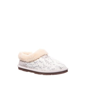 Alice Faux Fur Trimmed Slipper