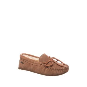 Andy Faux Fur Lined Moc Slipper