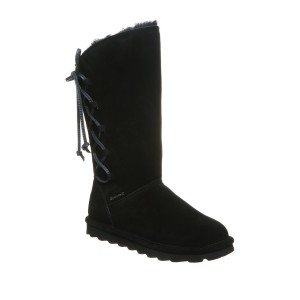 Rita Faux Fur Lace-Up Boot
