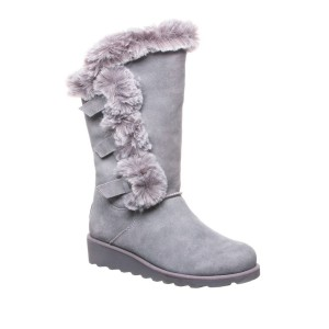 Genevieve Faux Fur Wedge Boot