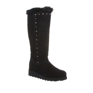 Dorothy Stud Suede Tall Boot