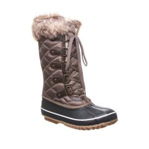 McKinley Faux Fur & Genuine Sheepskin Waterproof Quilted Boot