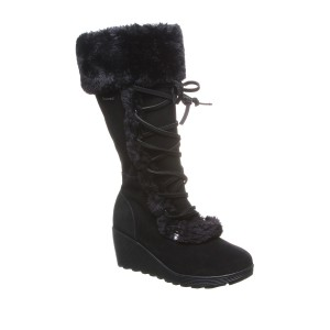 Minka Faux Fur Suede Tall Boot