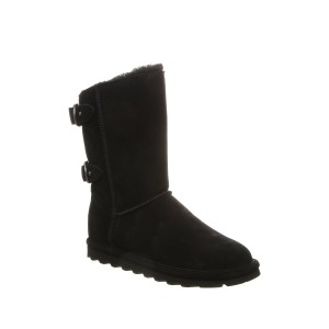 Clara Wide Suede Ankle Boot