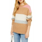 Supersoft Stripe Crewneck Sweater