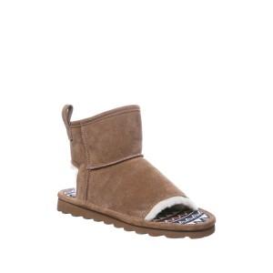 Molly Suede Faux Fur Trim Slipper Boot