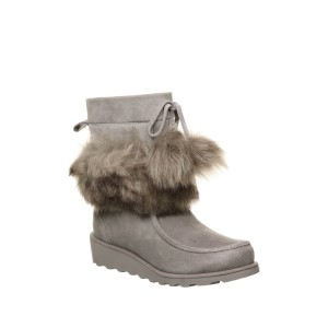 Arden Suede & Genuine Sheepskin Short Boot