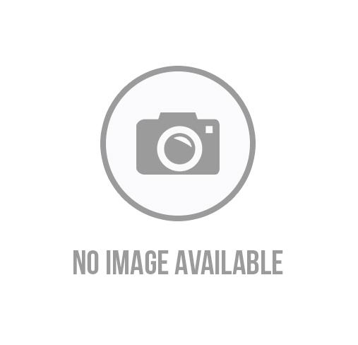 Floral Print Metallic Faux Wrap Skirt
