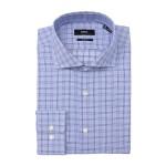 Gordon Grid Print Sharp Fit Dress Shirt