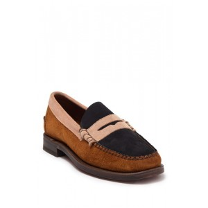 Dan Suede Tri City Penny Loafer