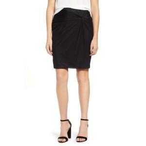 Mesh Knee Length Skirt