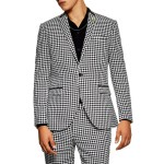 Roe Skinny Fit Suit Jacket