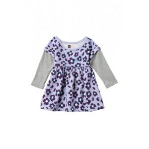 Layered Sleeve Dress (Baby Girls)