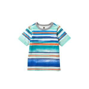 Painterly Stripe Tee (Toddler, Little Boys, & Big Boys)
