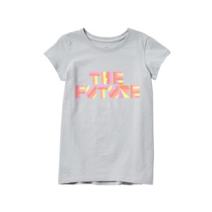 The Future Graphic Tee (Big Girls)