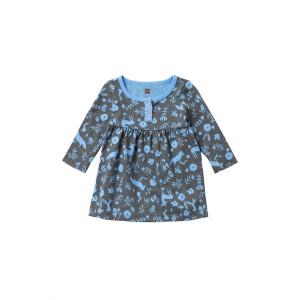 Sparkle Henley Dress (Baby Girls)
