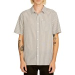 Kramer Striped Short Sleeve Classic Fit Shirt