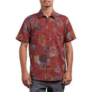 Stoney Delusion Slim Fit Short Sleeve Woven Shirt