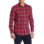 Caden Modern Fit Plaid Shirt