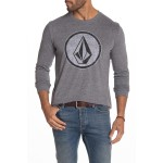 Orderly Heathered Long Sleeve T-Shirt