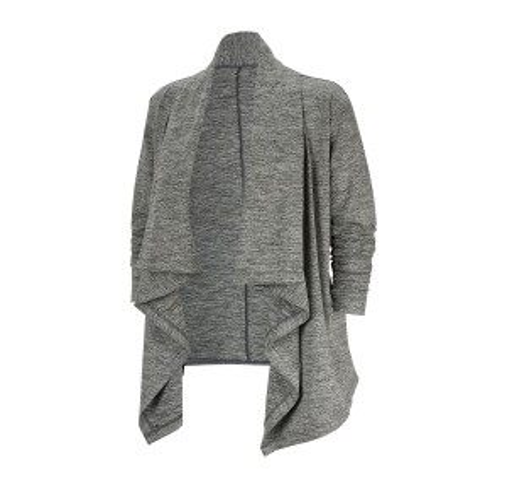Yoga Drape Front Cardigan
