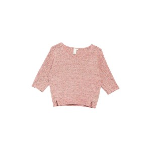 Elbow Sleeve Pullover Sweater