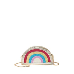 Glitter Rainbow Crossbody Bag