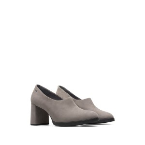 Kara Leather Block Heel Pump