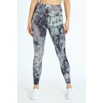 Chrissy Tie Dye Ankle Leggings