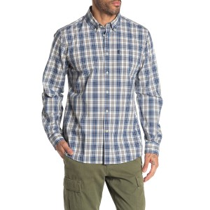 Endsleigh Check Print Tailored Fit Shirt