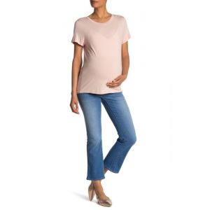 Over The Belly Flared Jeans (Maternity)