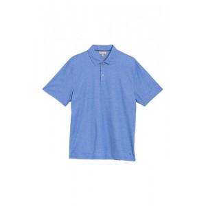 3-Button Short Sleeve Polo Shirt